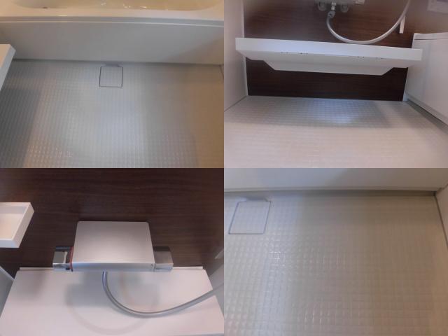 清掃後の浴室