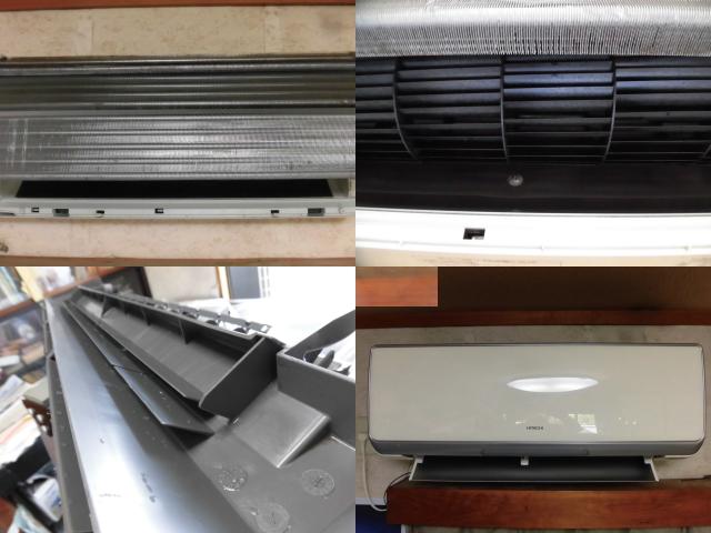 日立エアコンRAS-E28Yクリーニング