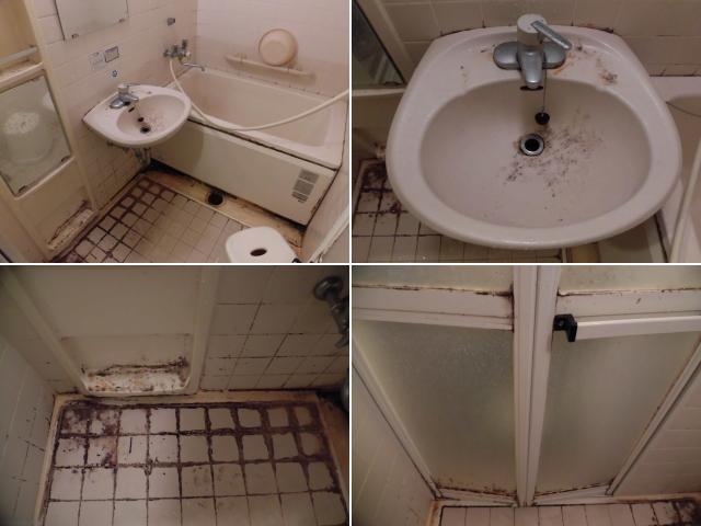 福岡市東区浴室クリーニング