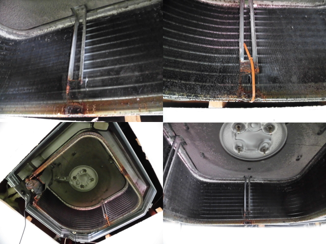 天井カセット型業務用エアコンクリーニング