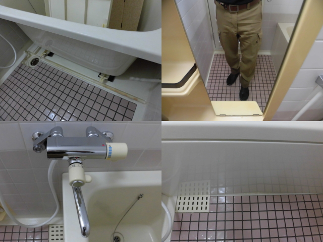 浴室石鹸カス除去