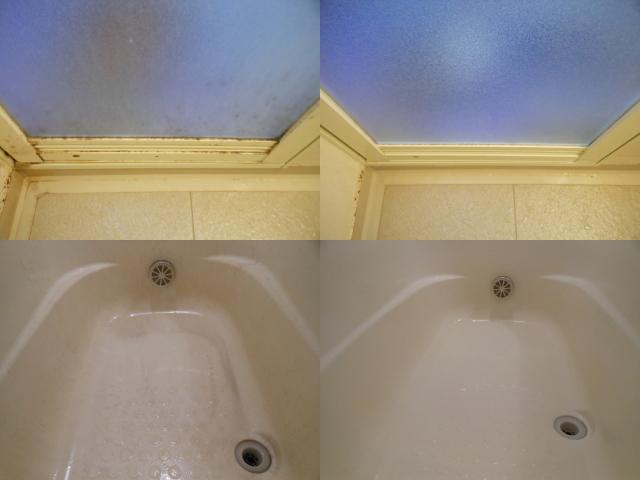 浴槽のクリーニング