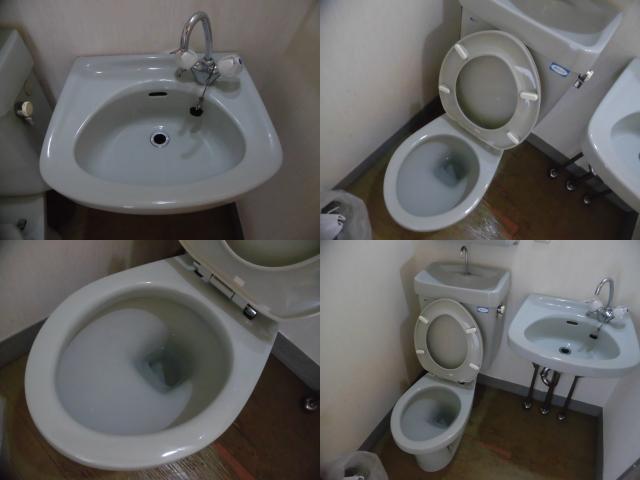 賃貸物件のトイレクリーニング