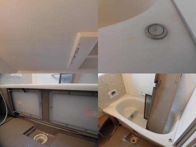 戸建て浴室の汚れ