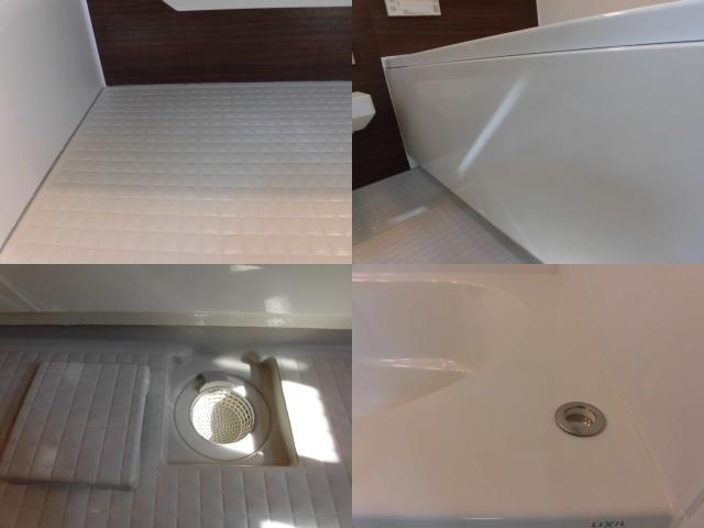 浴室の床の仕上げ