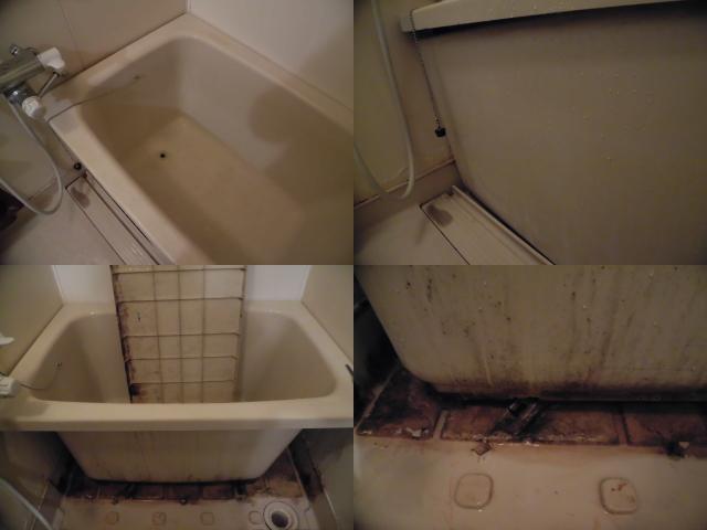 福岡市西区浴室クリーニング
