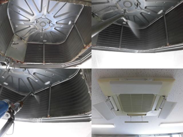 業務用エアコンのクリーニング